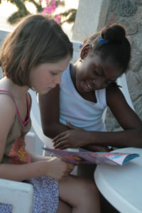 Willow Reads With A Friend